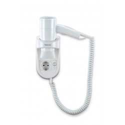 Wall mounted hair dryer Premium Smart 1600 Socket
