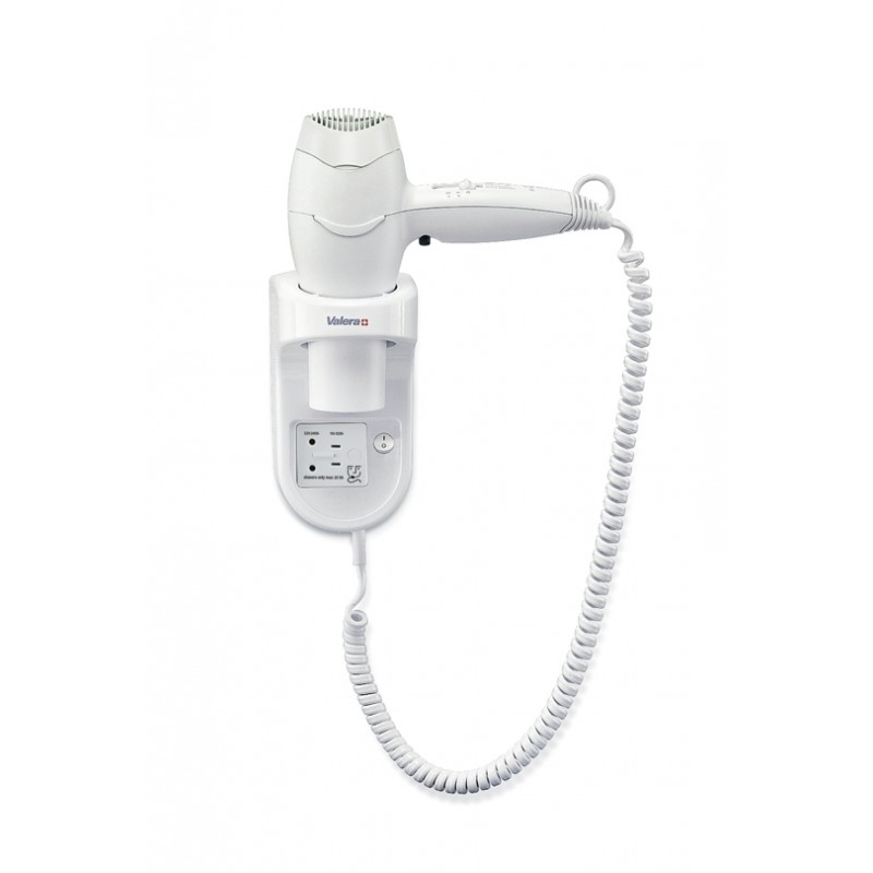 Wall mounted hair dryer Excel 1600 Shaver 561.17/032.05 Valera