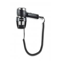 Wall mounted hair dryer Action Super Plus 1800 Black