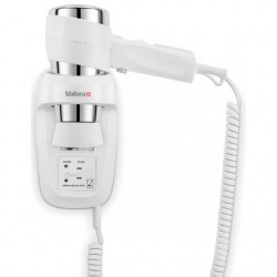 Wall mounted hair dryer Action Protect 1600 Shaver with shaver socket 542.06/044.06