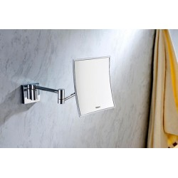 Wall mounted magnifying mirror Essence Square 207.08