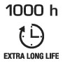 1000 hours long life