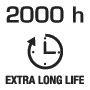 2000 hours long life