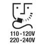 Shaver socket 110-120V/220-240V