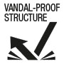 Vandal-proof structure